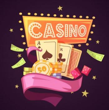 casino med spelmarker ock kortlek